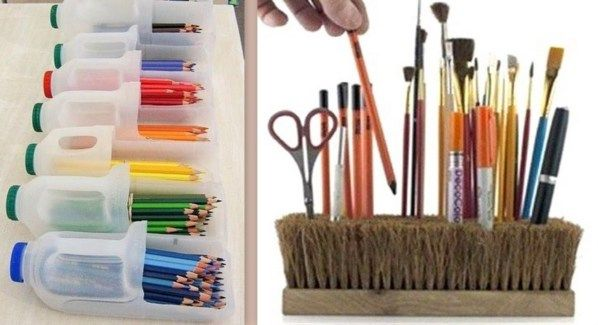 quelques id es r cup et recyclage d 39 objets organising rangement recyclage id e r cup et. Black Bedroom Furniture Sets. Home Design Ideas