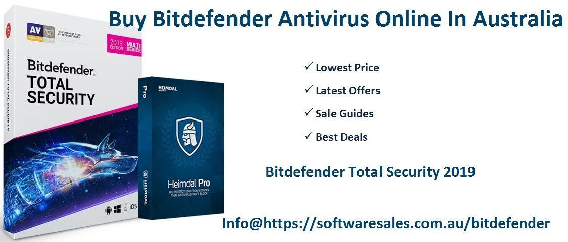 Buy Bitdefender Antivirus Online In Australia