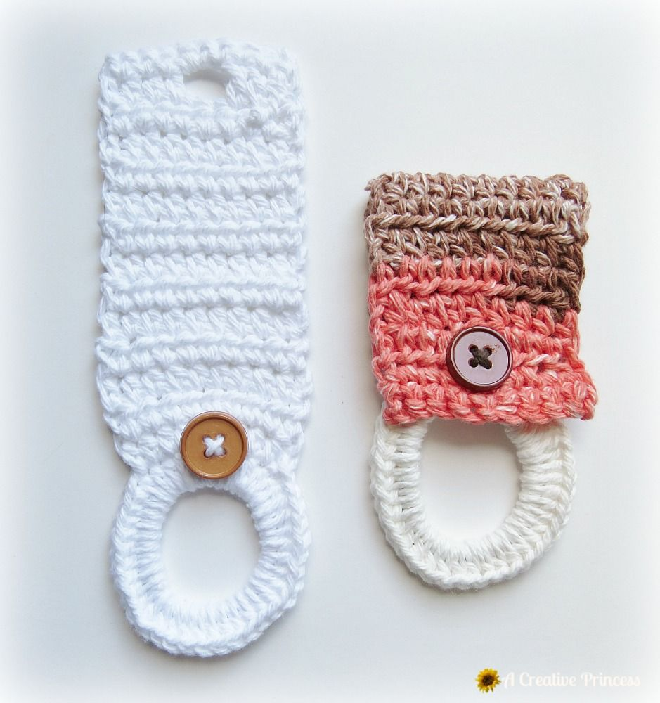 Crochet Towel Holder | crochet patterns | Pinterest | Crochet towel ...
