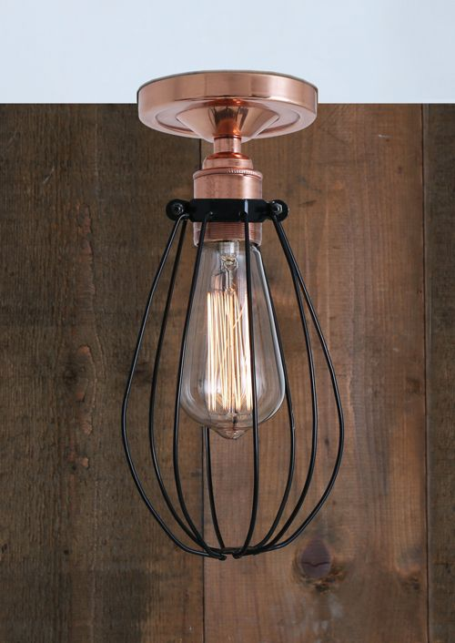 Abuja flush ceiling light mullan lighting lime lace £44 ceilinglight lighting industrial vintage cage