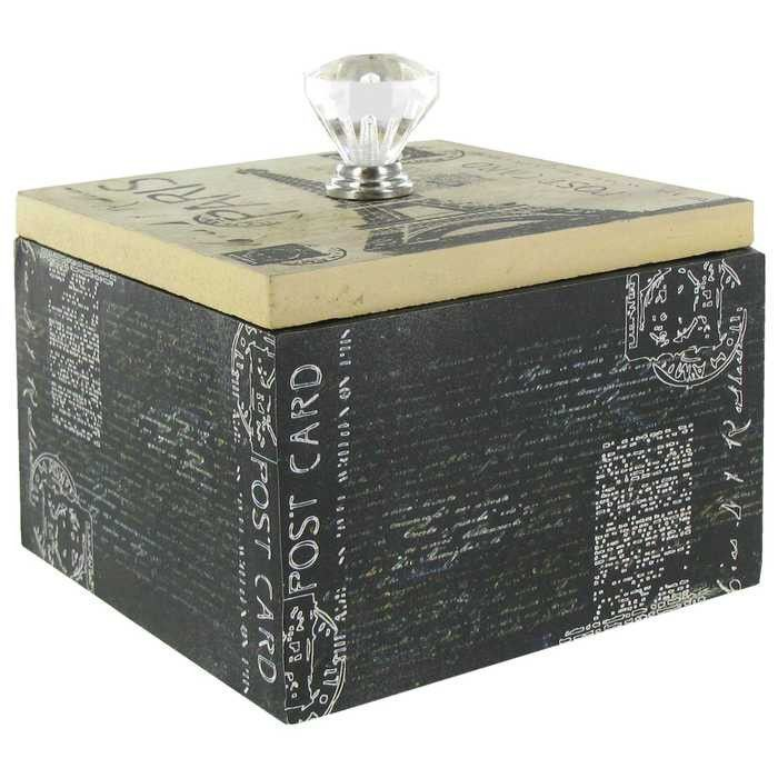 Hobby Lobby Decorative Boxes Paris Mdf Box With Clear Knob  I Want  Pinterest  Decorative