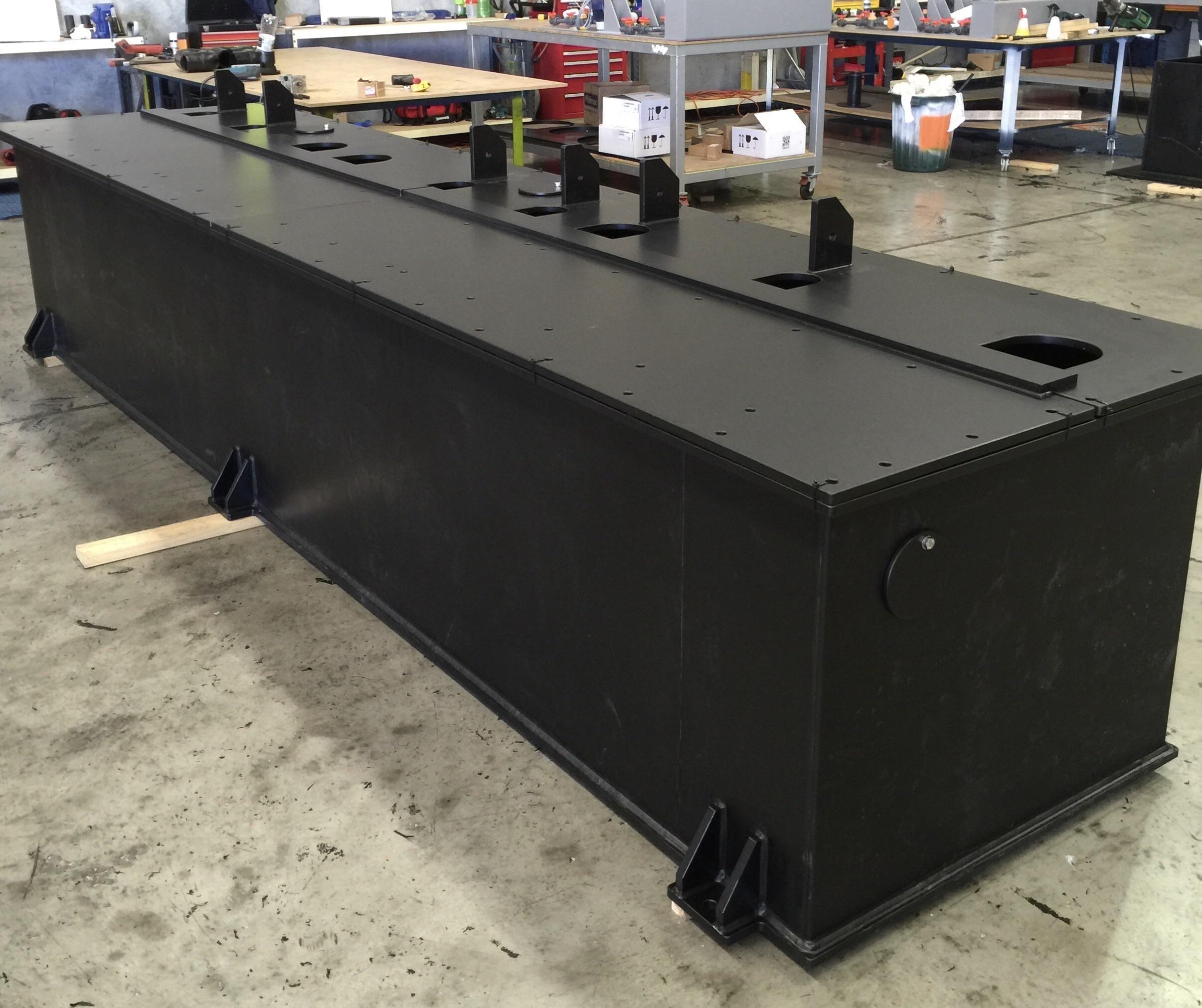Rectangular tank made from 15mm HDPE sheet  20 minute