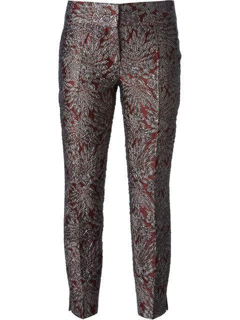 Dolce & Gabbana Brocade Trousers - Benesch - Farfetch.com