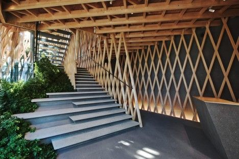 Awesome Wooden Architecture Lattice 2