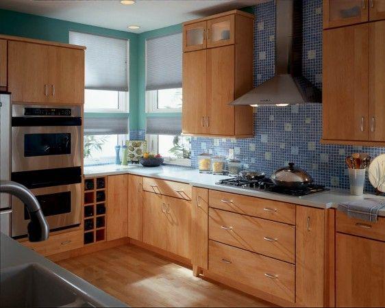 Attractive Kraftmaid Cabinets In Honey Spice Maple