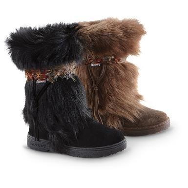 Bear Paw® Kola II Goat Fur Boots