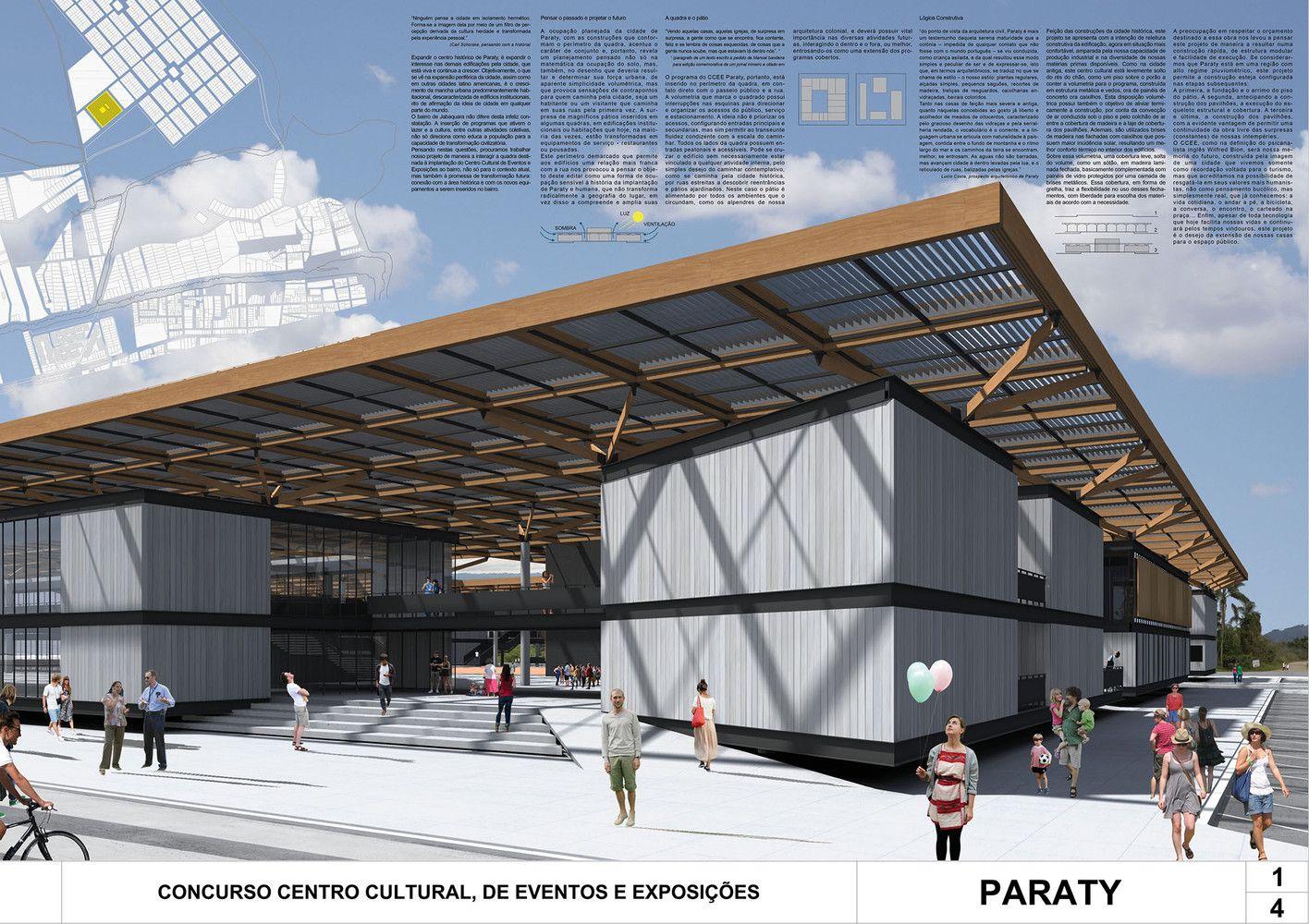 Galeria de Resultados do Concurso Centro Cultural de Eventos e Exposições – Cabo Frio, Nova Fribugo e Paraty – 53