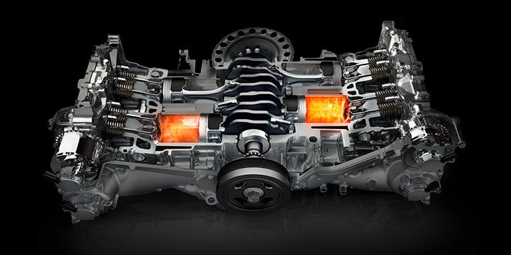 The 2 0 Liter 4 Cylinder Direct Injection Subaru Boxer Engine In 2017 Impreza Boasts 152 Horse