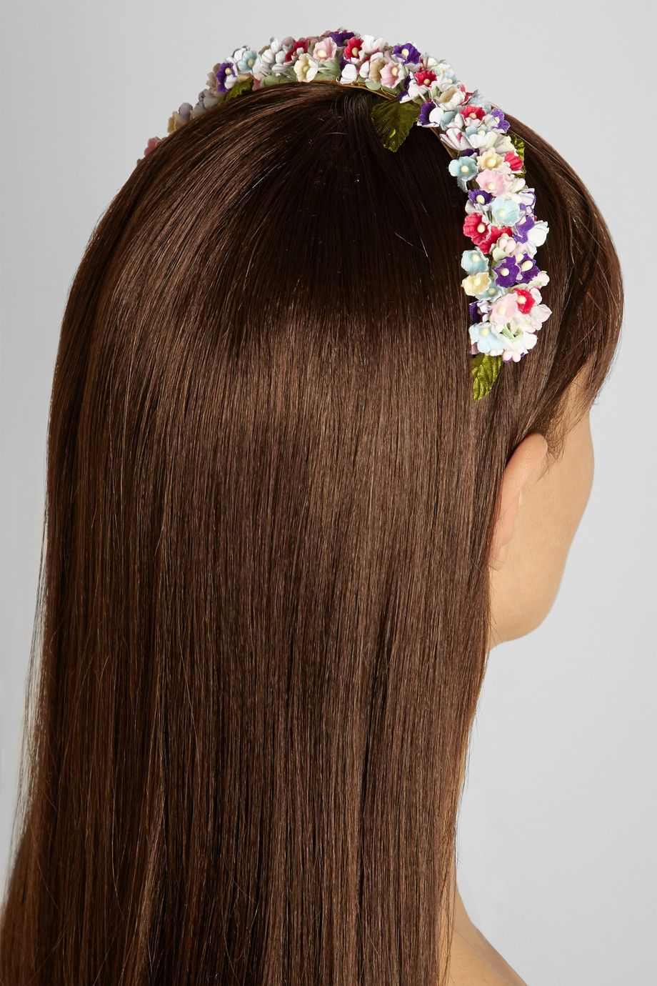 Eugenia Kim|Sylvie floral-embellished headband