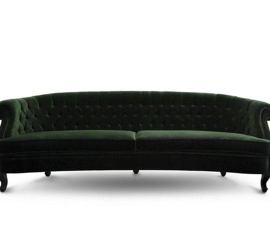 Maree samtsofa die struktur und form des maree sofa for Landschaft sofa