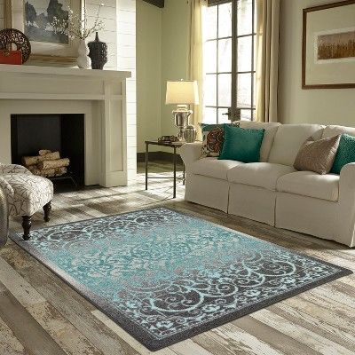1 8 X2 10 Scroll Tufted Accent Rug Gray Maples Size 1 8 X2 10 Purple Area Rugs Rugs In Living Room Area Rugs