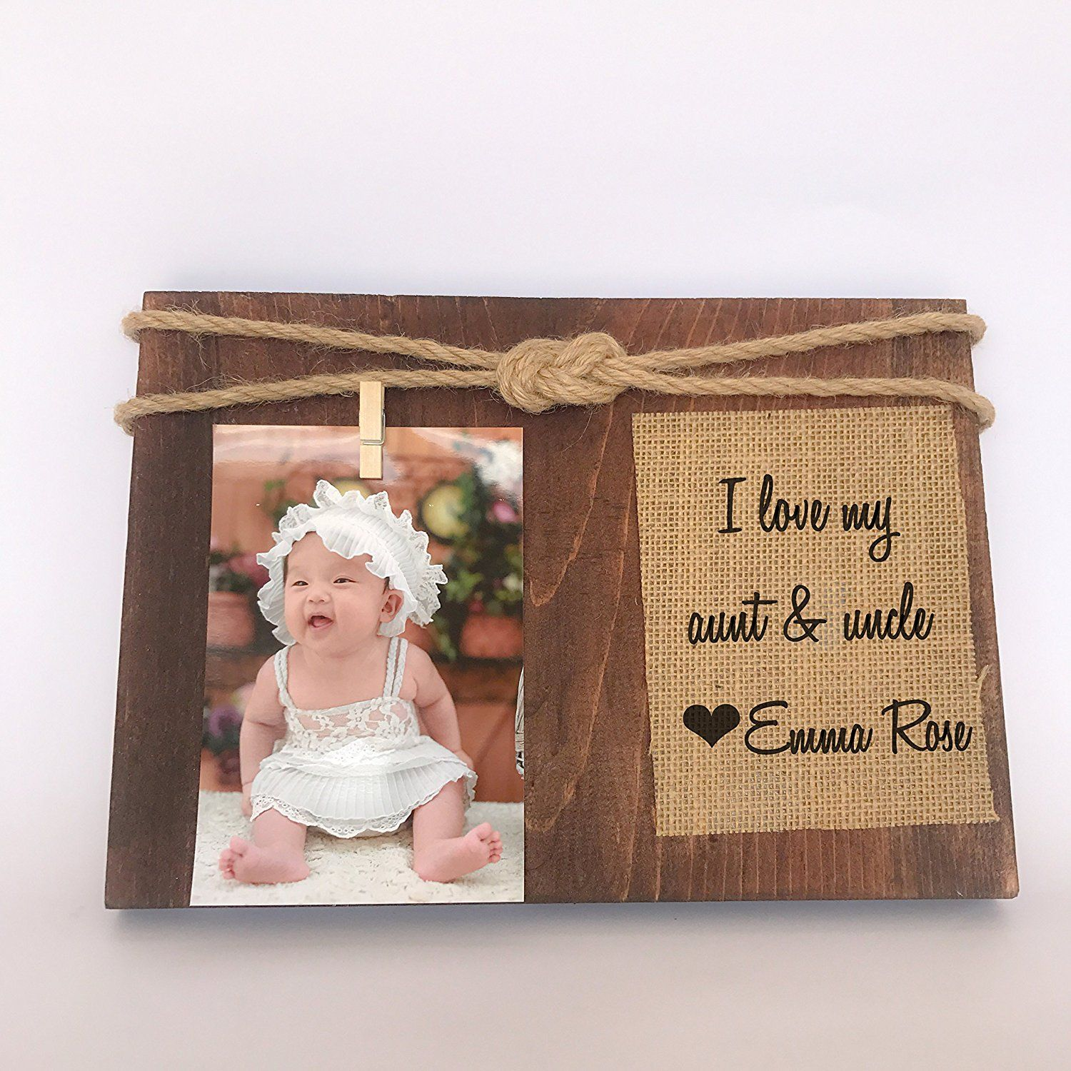 I Love My Aunt And Uncle Picture Frame Gift For Uncle Gift For