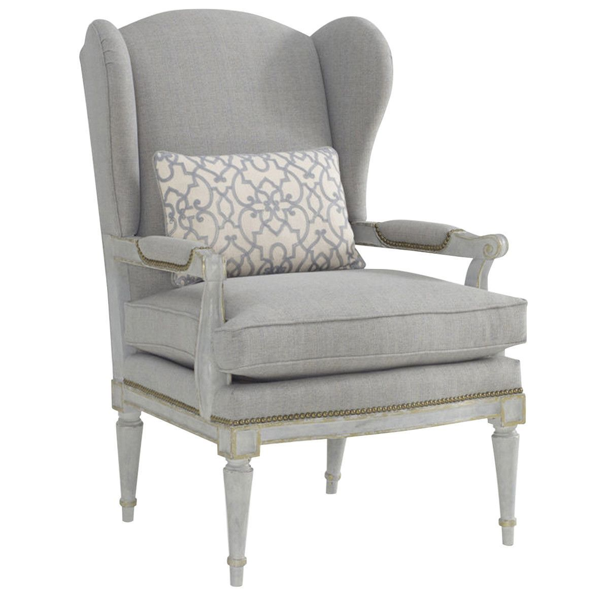 Art Furniture The Foundry Upholdstered Parisian Wing Chair 712599