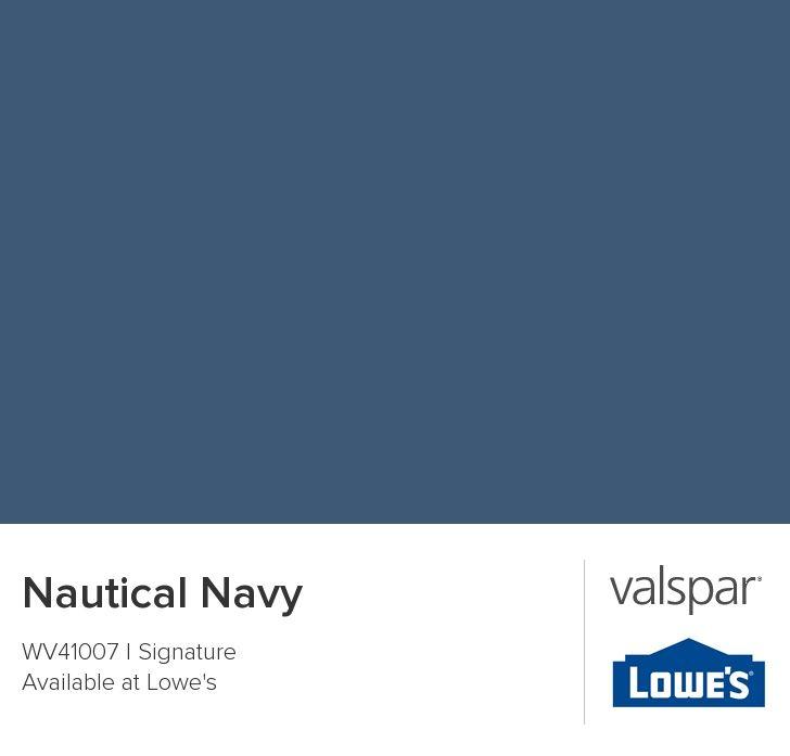 Valspar Nautical Navy Calming Paint Colors Valspar Paint Colors