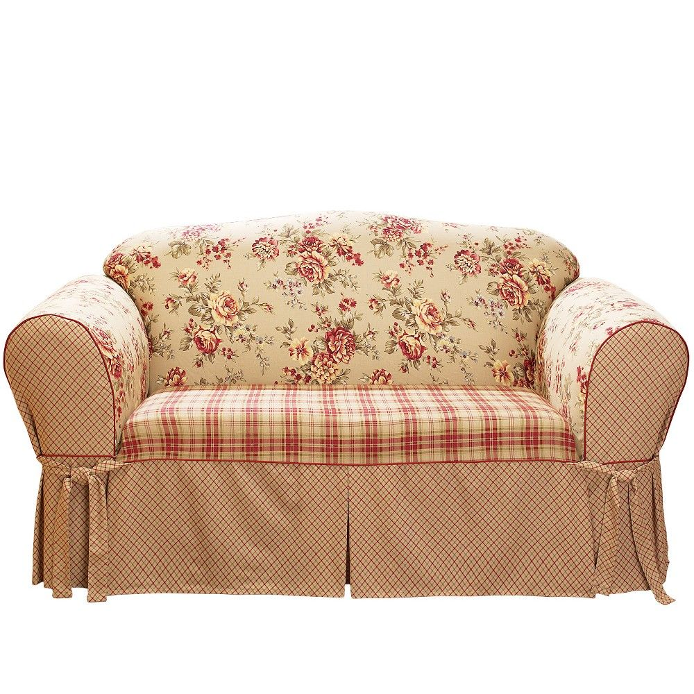 Lexington Sofa Slipcover Red Sure Fit Products In 2019