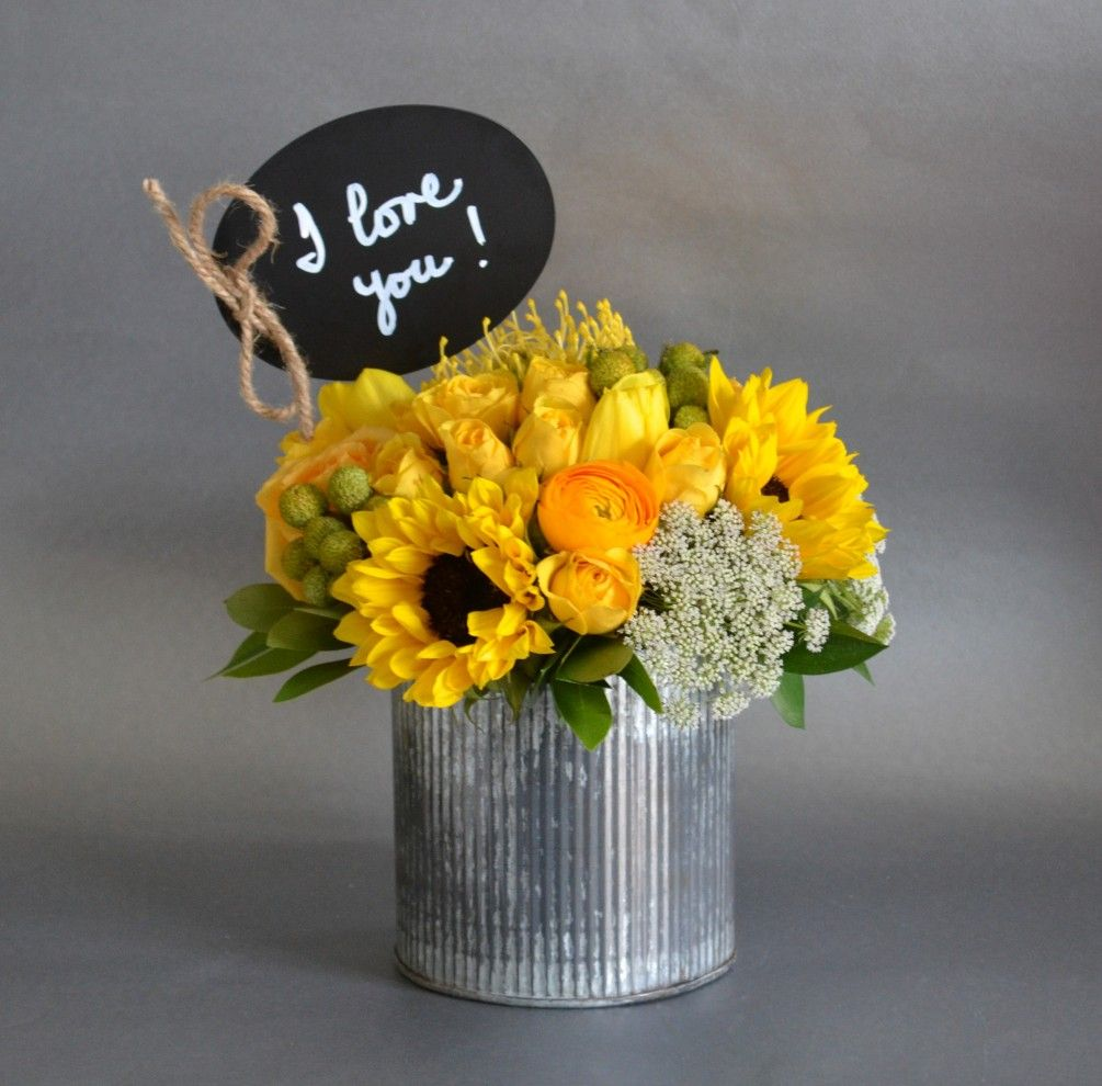 Text Me Yellow by My Blooming Business | Yellow flower