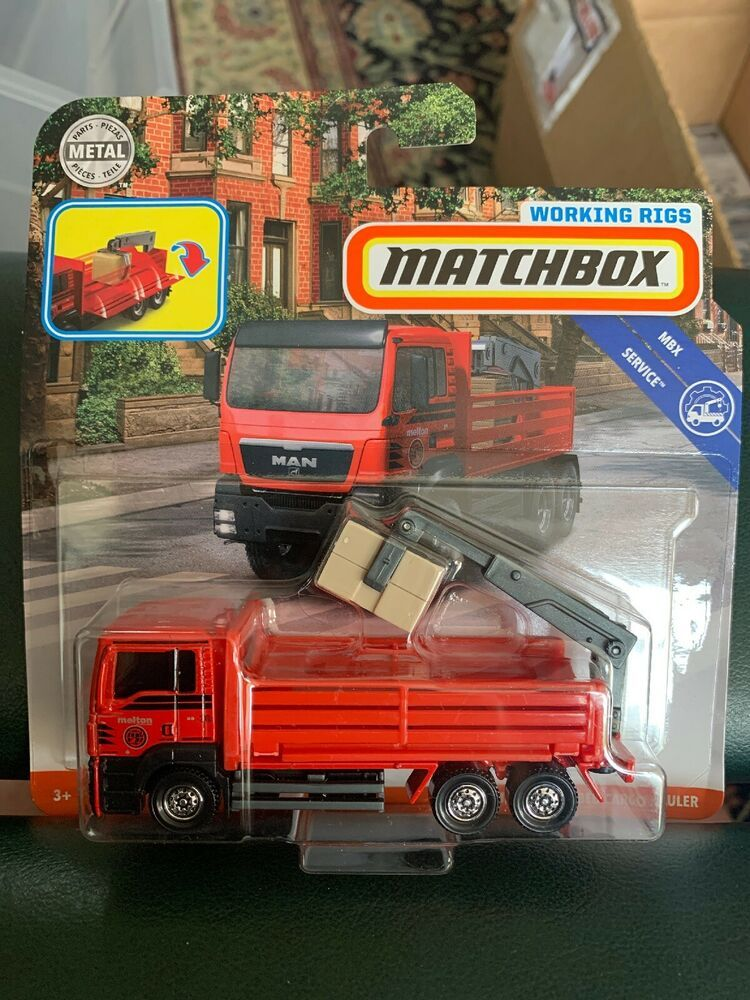 Details about Matchbox Working Rigs Man TGS Flatbed Cargo
