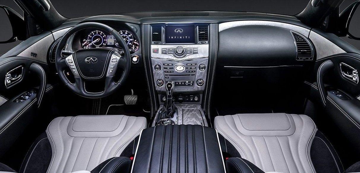 Infiniti Q80 Interior Luxury Suv Infiniti Usa Suv
