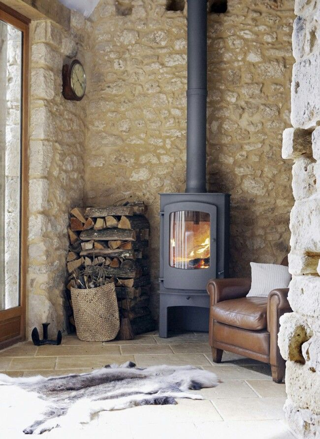 Pin By Alan Treacy On Fireplace With Images French Farmhouse Wood Burning Stove Wood Stove