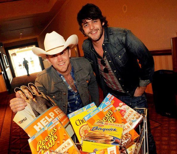 Justin Moore & Thomas Rhett.  Both so damn cute!!!