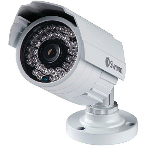 Swann Swpro 842cam Us 900tvl High Resolution Security Camera White Gray Outdoor Security Camera Security Cameras For Home Security Camera