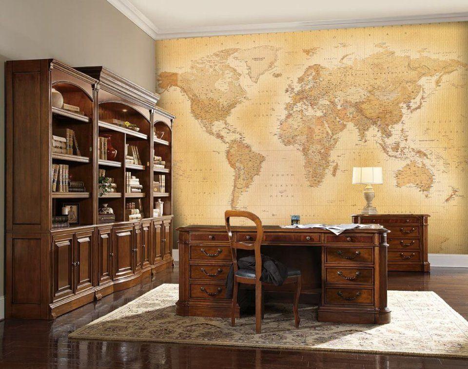 1wall mural de papel pintado para paredes mapamundi - Papel pintado mapamundi ...