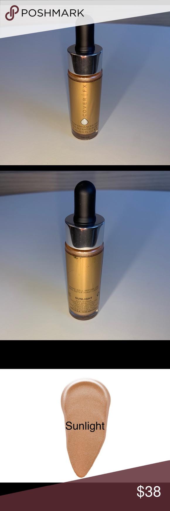 Cover FX Custom Enhancer Drops/Liquid Highlight NWT