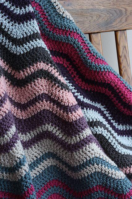 Ravelry Jenevey S Ripple Baby Blanket Crochet Baby Crochet Ripple Afghan Pattern