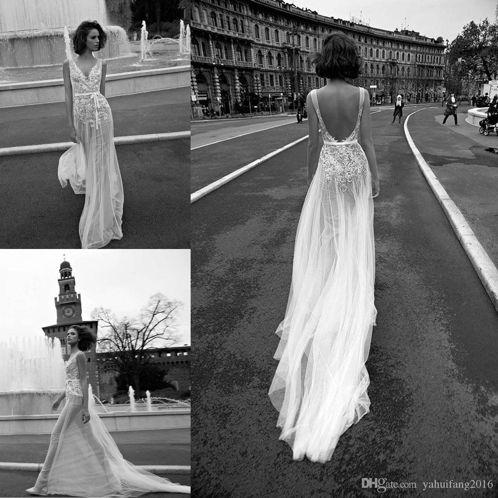 illusion mermaid wedding dresses vantage backless tulle court