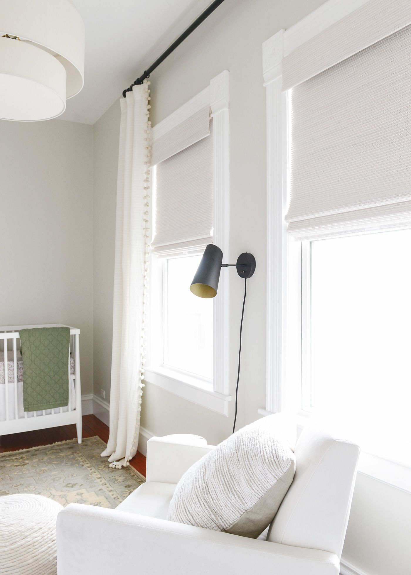 On Choosing Natural Shades In The Nursery Modern Window