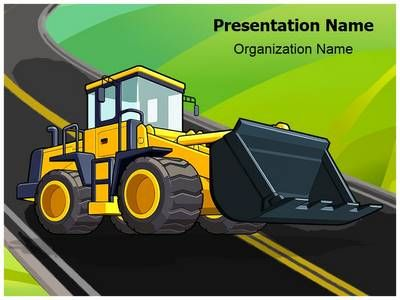 Jcb Truck Powerpoint Template Is One Of The Best Powerpoint