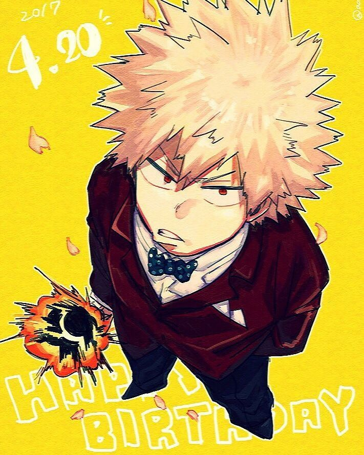 Devotion Katsuki X Reader Happy Birthday Katsuki Anime My Hero Hero