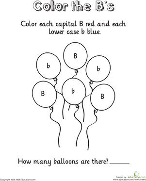 Letter B | Worksheets, Kindergarten and School