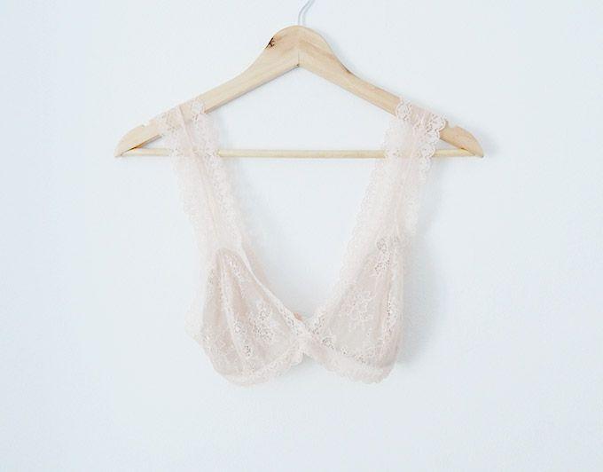 diy-sujetador-lencero | Patrones | Pinterest | Lace bralette ...