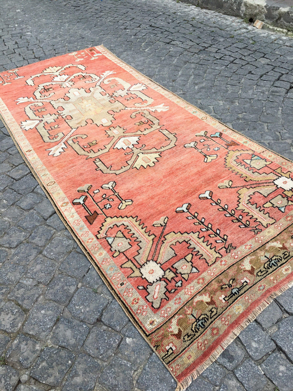 Turkish Carpet, 047  8.5 Ft x 3.6 Ft.  2.60cm x 1.07cm Vintage handmade Low pile Tribal Carpet  Anatolia Home Decor. Konya Rug. #carpet #rug #homedecor #officerunner #runner #oushak #HomeDécor #turkishkilimpillow #bohemianpillow #cushioncover #decorativepillow #pillowcase #bohokilimpillow #turkish #rug #etsyrug #etsy #carpet #homedecor #homedizayn #homedesign #newyork #america #dallas #handmaderug #handmade #ottoman #ottomanrug #ruglove #kilimmodelleri #vintage #vintagestyle #oushakrug #kilim