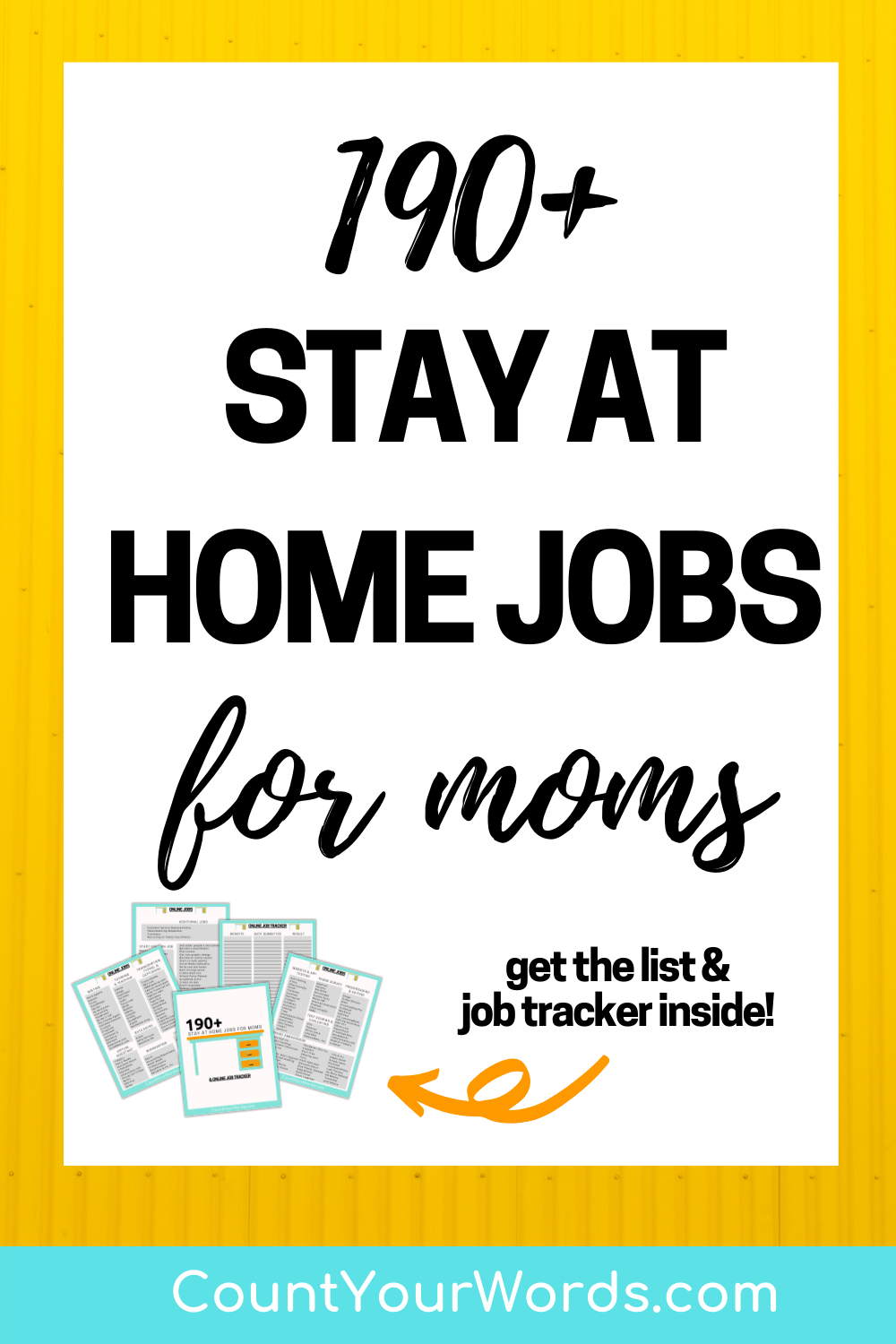 190+ Exciting Stay at Home Jobs for Moms