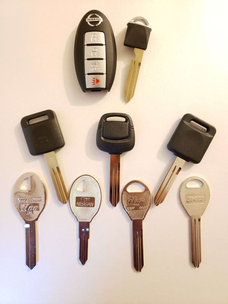 Lost Your Nissan Car Keys? Need a Replacement Key Made