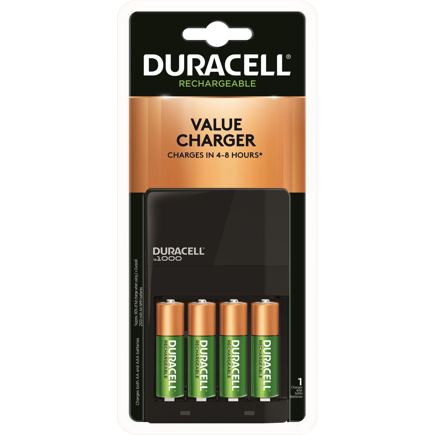 Duracell 4 Battery Rechargeable Battery Charger Rechargeable Battery Charger Aa Battery Charger Duracell