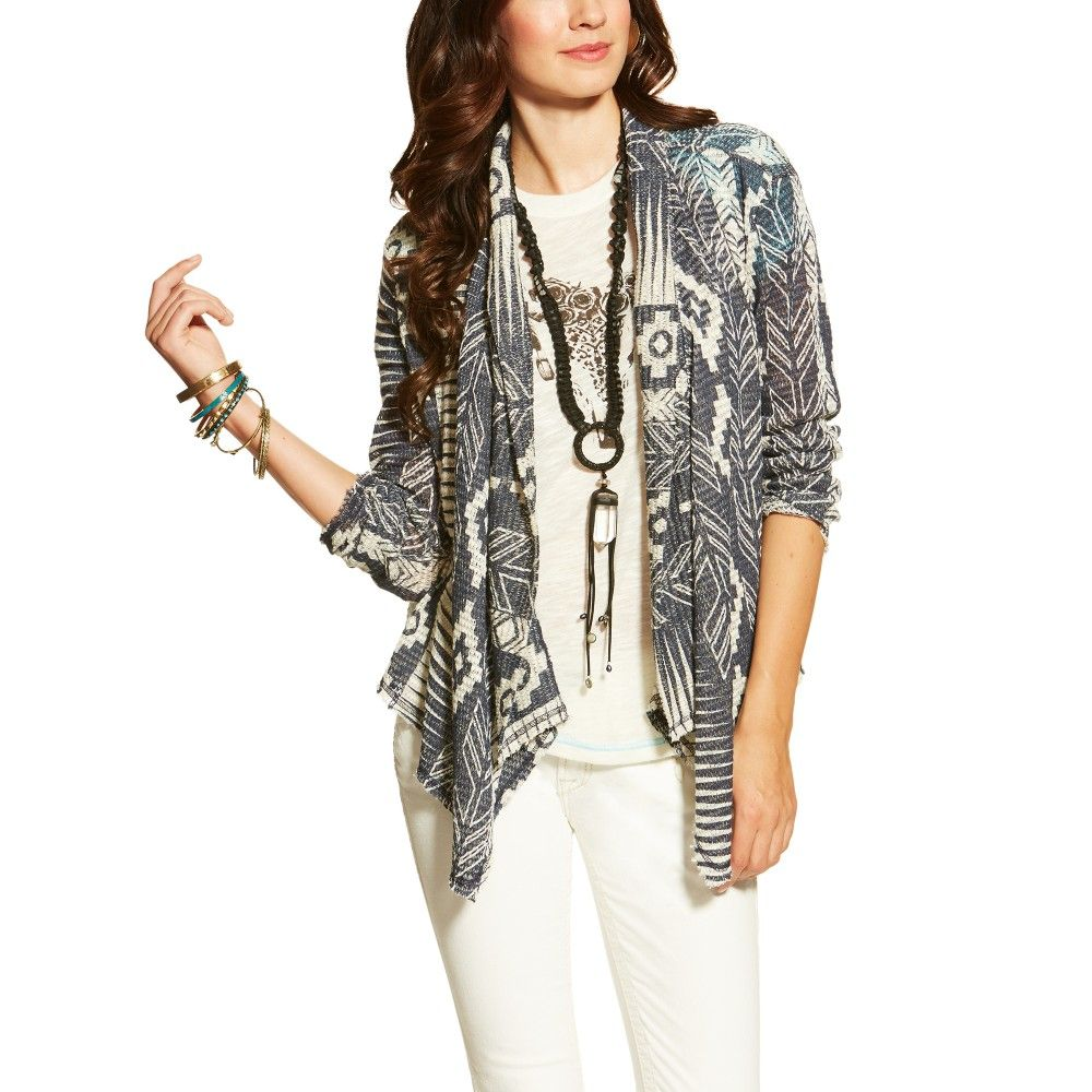 Ariat Ladies Clarita Cardigan - Multi at HorseLoverZ.com. Printed ...