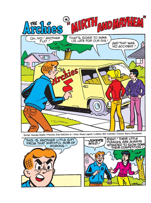 Preview: Archie 1000 Page Mega Comics Digest, Script: Various Art: Various $14.99 1000 pp, Full Color  There's always room for more merriment from Archie and his pals 'n' gals! Get read...,  #Archie #Archie1000PageMegaComicsDigest #ArchieComics #Preview