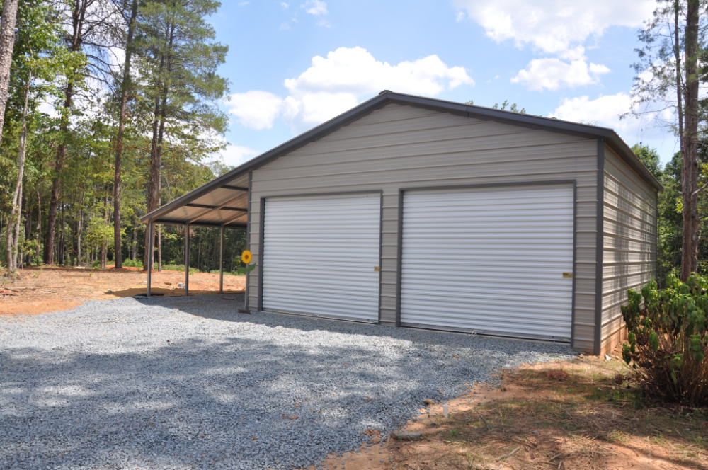 Garage Shed Carpot Metal Carports With Storage (With
