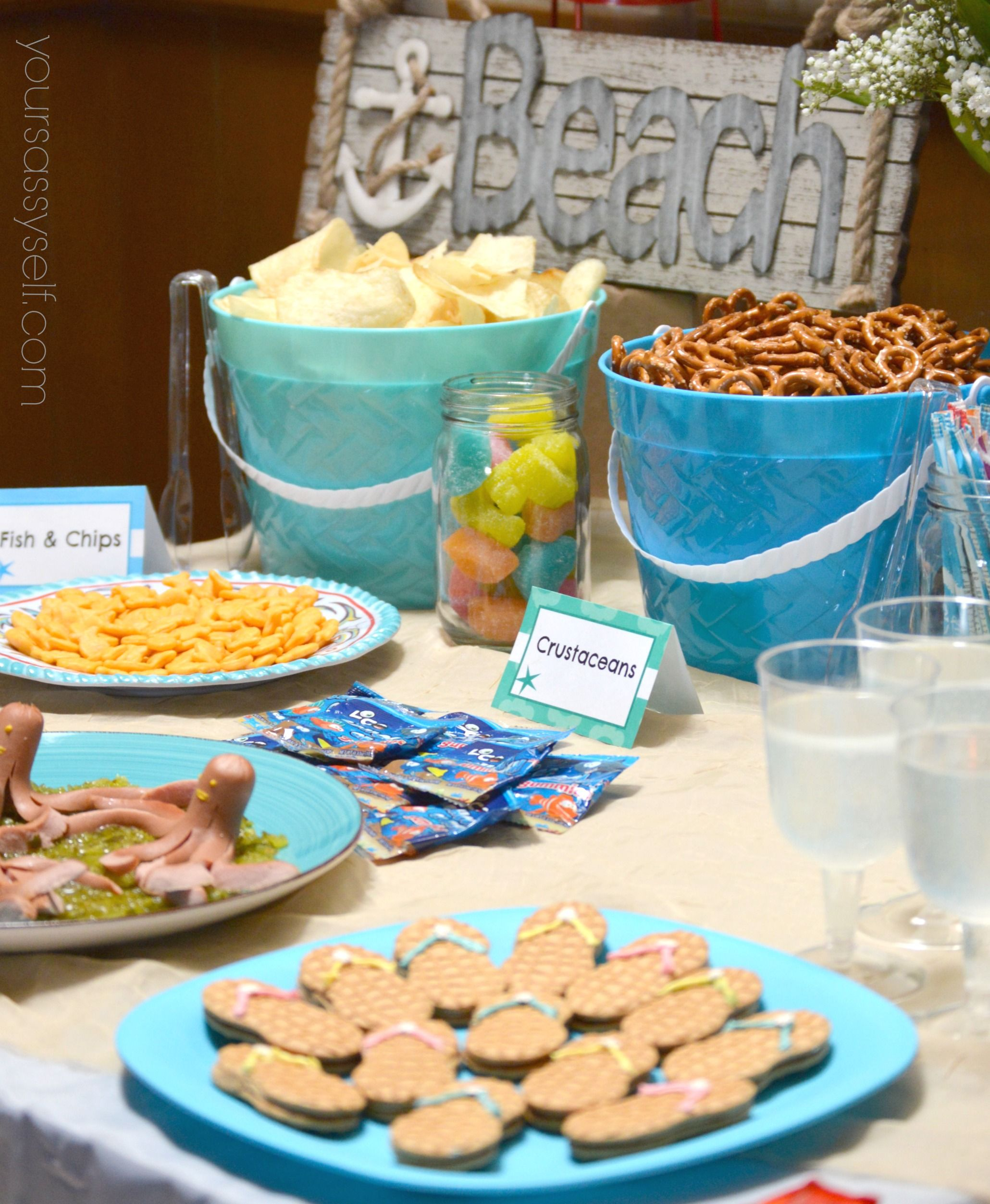 Fun Birthday Beach Party Ideas For Any Age With Images Luau
