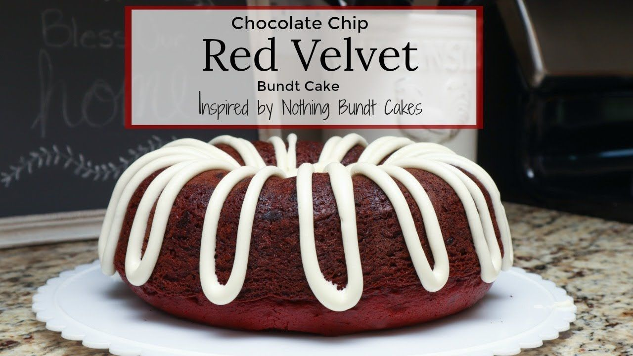 Chocolate chip red velvet bundt cake recipe inspired by
