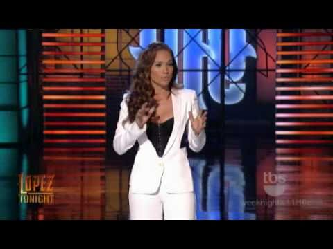 Jennifer Lopez opens the George Lopez Show with funny monologue (January...