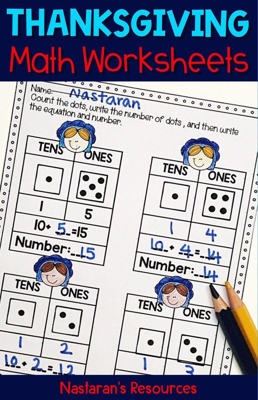 Thanksgiving Math Worksheets For Kindergarten No Prepration Thanksgiving Math Worksheets Math Worksheets Thanksgiving Math [ 1280 x 828 Pixel ]
