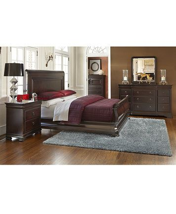 Heathridge 3 Piece Queen Bedroom Set, Only at Macy\'s, with Chest ...