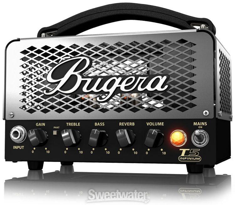 bugera t5 infinium 5 watt class a tube head low watt guitar amps amp heads guitar amp. Black Bedroom Furniture Sets. Home Design Ideas