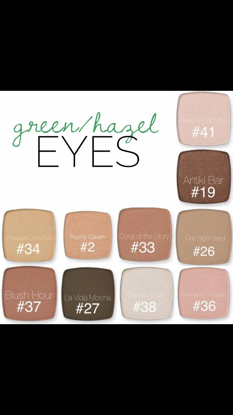 shadows for green/hazel eyes | limelife mystic beauties