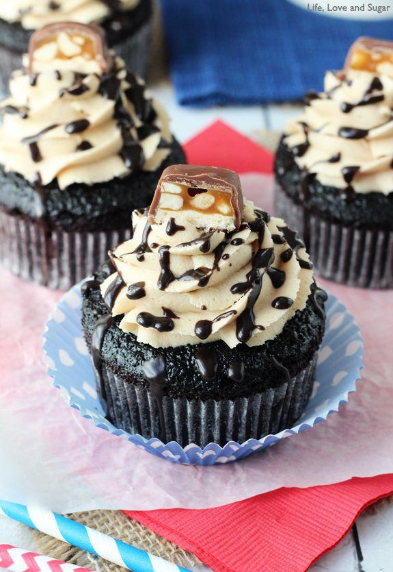 Snickers Cupcakes Recipe Best Chocolate Cupcakes Cupcake