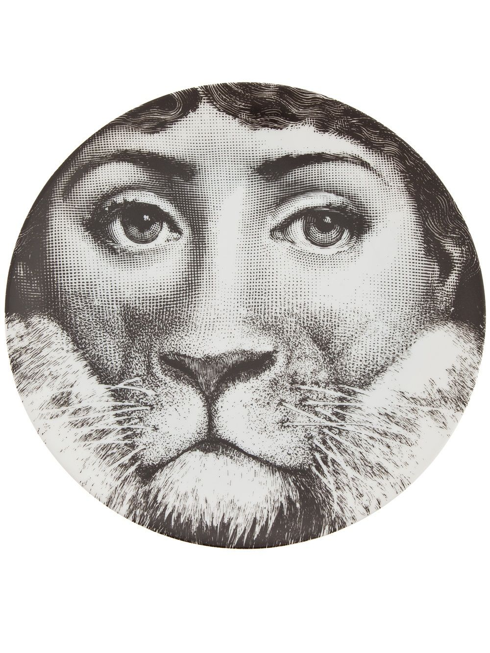 Fornasetti Art Prints Fornasetti Plate Shopping White Women And Black And White
